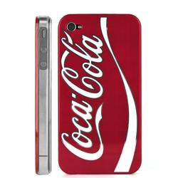 Imagem de Capa para iPhone 4 e 4S de Plástico - Coca Cola