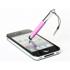 Imagem de Caneta Stylus para Smartphone e Tablet Compacta com Plug Fone de Ouvido - Rosa