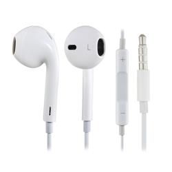 Imagem de Fone de ouvido com microfone e controle de volume para Apple - Branco