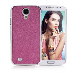 Imagem de Capa para Galaxy S4 i9500 com Glitter - Rosa
