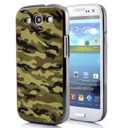 Imagem de Capa para Galaxy S3 i9300 Camuflagem do Exército