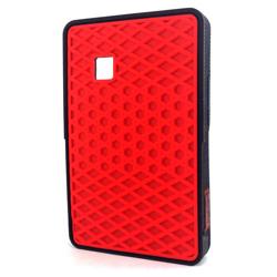 Imagem de Capa para LG Cookie Smart T735 Vans - Vermelho com Preto