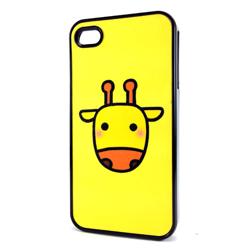 Imagem de Capa para iPhone 4 e 4S de Plástico - Girafa