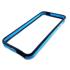 Imagem de Bumper para iPhone 5 e 5S de TPU - Preto com Azul