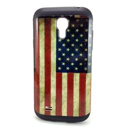 Imagem de Capa para Galaxy S4 Mini i9190 de TPU com Estampa em Plástico - USA