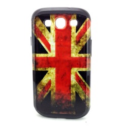 Imagem de Capa para Galaxy S3 i9300 de TPU com Estampa em Plástico - Inglaterra