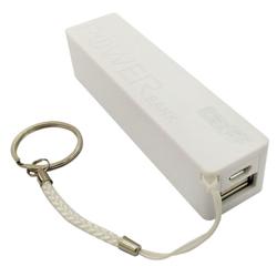 Imagem de Power Bank Bateria Extra Portátil 1500mAh - Branco
