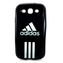 Imagem de Capa para Galaxy S3 i9300 de TPU Preto - Adidas