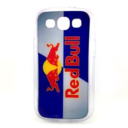 Imagem de Capa para Galaxy S3 i9300 de TPU - Red Bull