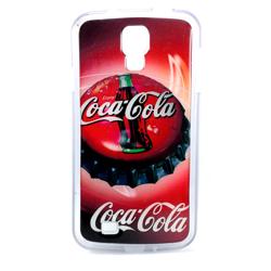 Imagem de Capa para Galaxy S4 i9500 de TPU - Coca Cola Tampa
