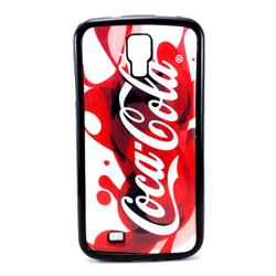 Imagem de Capa para Galaxy S4 i9500 de TPU - Coca Cola