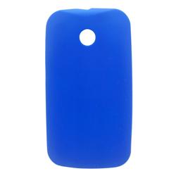 Imagem de Capa para Moto E de TPU - Azul Escuro