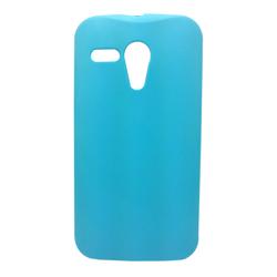 Imagem de Capa para Moto G de TPU - Azul Claro