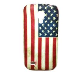 Imagem de Capa para Galaxy S4 Mini i9190 de TPU - USA