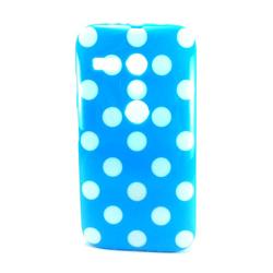 Imagem de Capa para Moto G de TPU - Petit Poá Azul