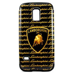Imagem de Capa para Galaxy S5 Mini G800 de TPU com Plástico - Lamborghini