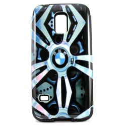 Imagem de Capa para Galaxy S5 Mini G800 de TPU com Plástico - BMW
