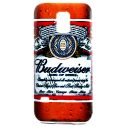 Imagem de Capa para Galaxy S5 Mini G800 de TPU - Budweiser 1