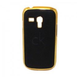 Imagem de Capa para Galaxy S3 Mini i8190 de Plástico com Borda Dourada - Calvin Klein