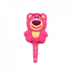 Imagem de Plug Pingente para Proteção Contra Poeira 3,5mm - Ursinho Lotso Toy Story