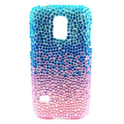 Imagem de Capa para Galaxy S5 Mini G800 de TPU Com Strass - Colorida