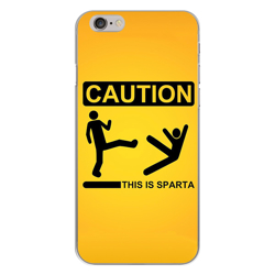 Imagem de Capa para Celular - Caution This Is Sparta