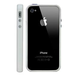 Imagem de Bumper para iPhone 4 e 4S de TPU - Branco