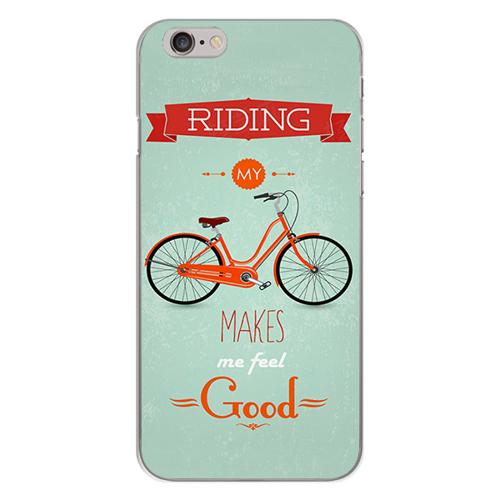 Imagem de Capa para Celular - Bicicleta   Riding My Bike Makes Me Feel Good