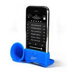 Imagem de Suporte Acústico para iPhone Leadership - Azul