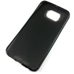 Imagem de Capa para Galaxy S6 Edge G925 de TPU - Preta Transparente