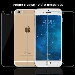 Imagem de Película para iPhone 6 e iPhone 6S de Vidro Temperado - Frente e Verso | Transparente