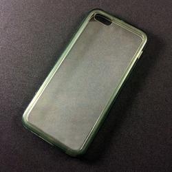 Imagem de Capa para iPhone 5C de Acrílico com Traseira Transparente - Lateral Fumê