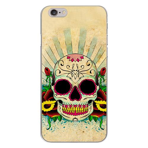 Imagem de Capa para Celular - Caveira Mexicana | Color