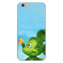 Imagem de Capa para Celular - Mickey | Folhas verdes