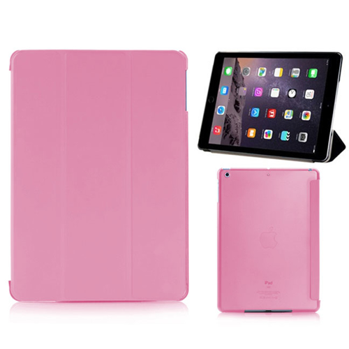 Imagem de Smart Case de Poliuretano com capa traseira para iPad Air - Rosa