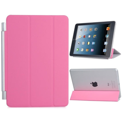 Imagem de Smart Cover para iPad Mini 1, 2 e 3 de Poliuretano - Rosa