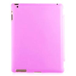 Imagem de Capa para iPad 2, 3 e 4 traseira de Plástico Compatível com Smart Cover - Rosa