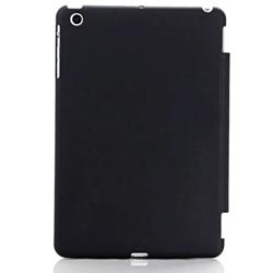 Imagem de Capa para iPad Mini 1, 2 e 3 traseira de Plástico compatível com Smart Cover - Preta