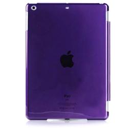 Imagem de Capa para iPad Mini 1, 2 e 3 traseira de Plástico compatível com Smart Cover - Roxa