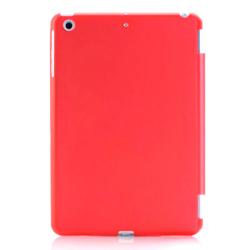 Imagem de Capa para iPad Mini 1, 2 e 3 traseira de Plástico compatível com Smart Cover - Vermelha