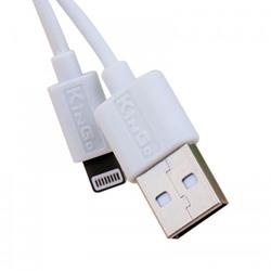 Imagem de Cabo para iPhone e iPad Lightning - KinGo | Branco