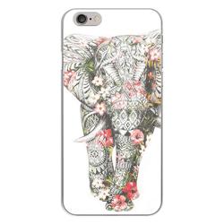 Imagem de Capa para Celular - Elefante Floral