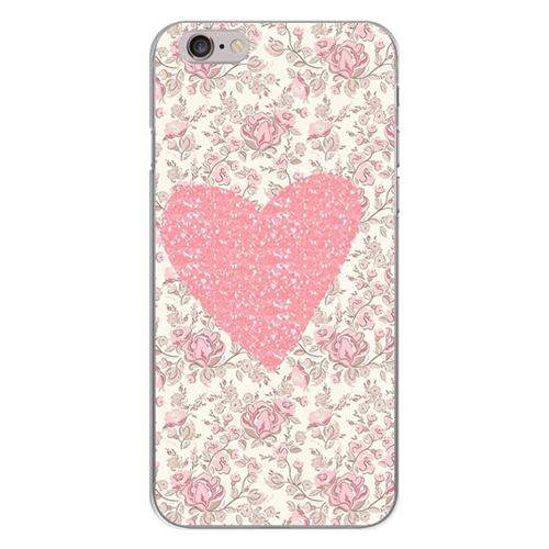 Imagem de Capa para Celular - Coração Floral