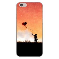 Imagem de Capa para Celular - Menino Balão de Coração