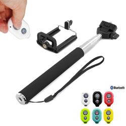 Imagem de Bastão para Selfie Retrátil com Controle Remoto Bluetooth