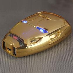 Imagem de Power Bank Bateria Extra Portátil 8000mAh - Homem de Ferro | Cores