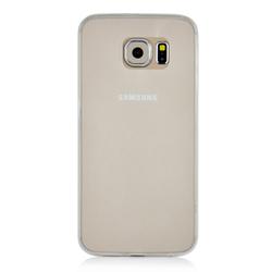 Imagem de Capa para Galaxy S6 de TPU - Transparente