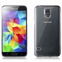 Imagem de Capa para Galaxy S5 de TPU - Transparente