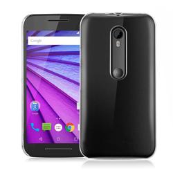 Imagem de Capa para Moto G3 de TPU - Transparente