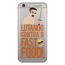 Imagem de Capa para Celular - Lutando contra o fast food